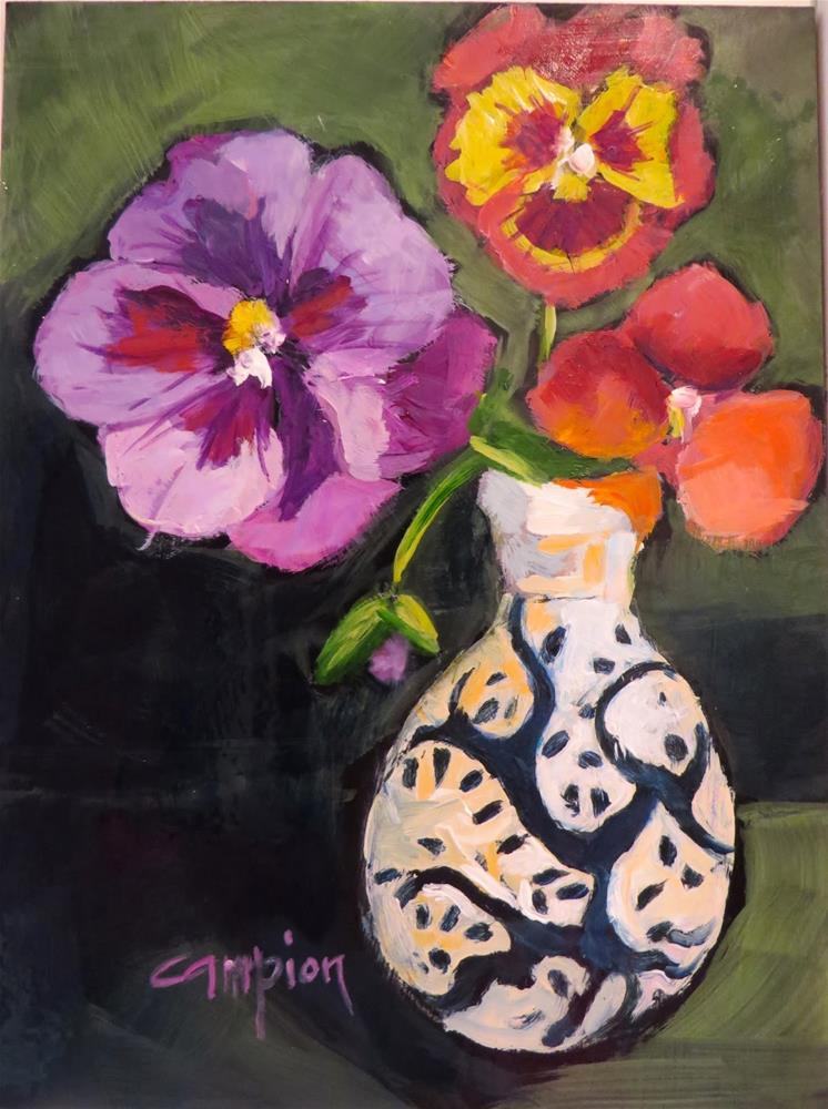 """689 Persistence"" original fine art by Diane Campion"