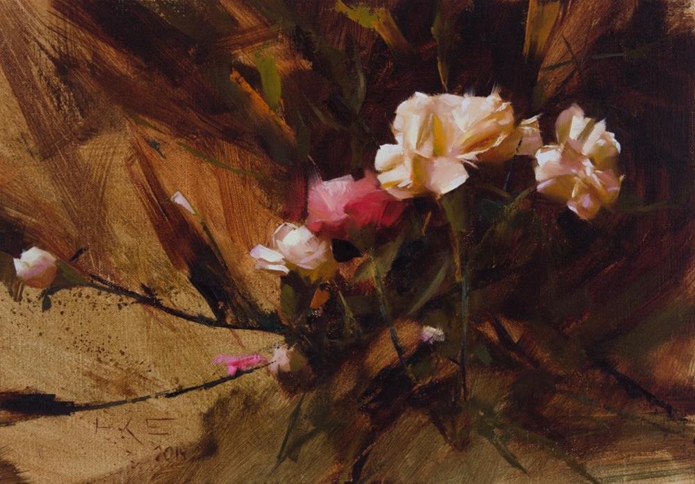 """Carnations"" original fine art by Thorgrimur Andri Einarsson"