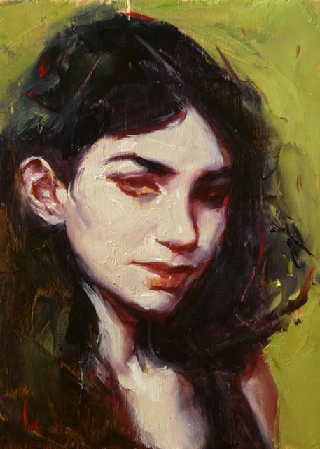 """Sly"" original fine art by John Larriva"