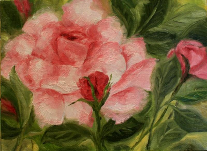 """""""In Full Bloom"""" original fine art by Jean Nelson"""