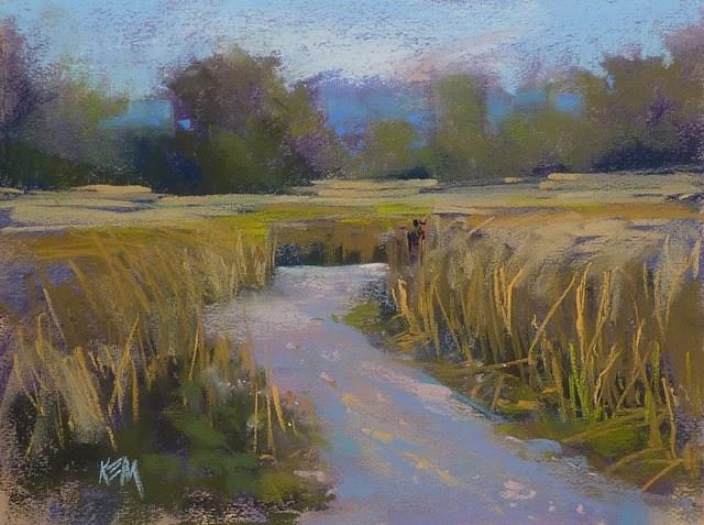 """""""In Vincent's Footsteps....Impressions of France part 3"""" original fine art by Karen Margulis"""
