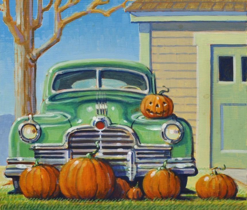 """Autumn"" original fine art by Robert LaDuke"