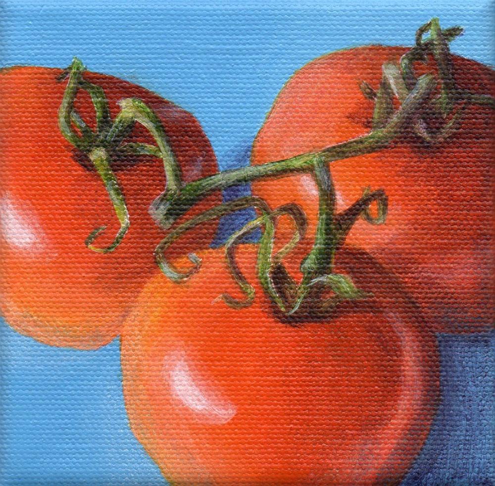 """Summer Gathering"" original fine art by Debbie Shirley"