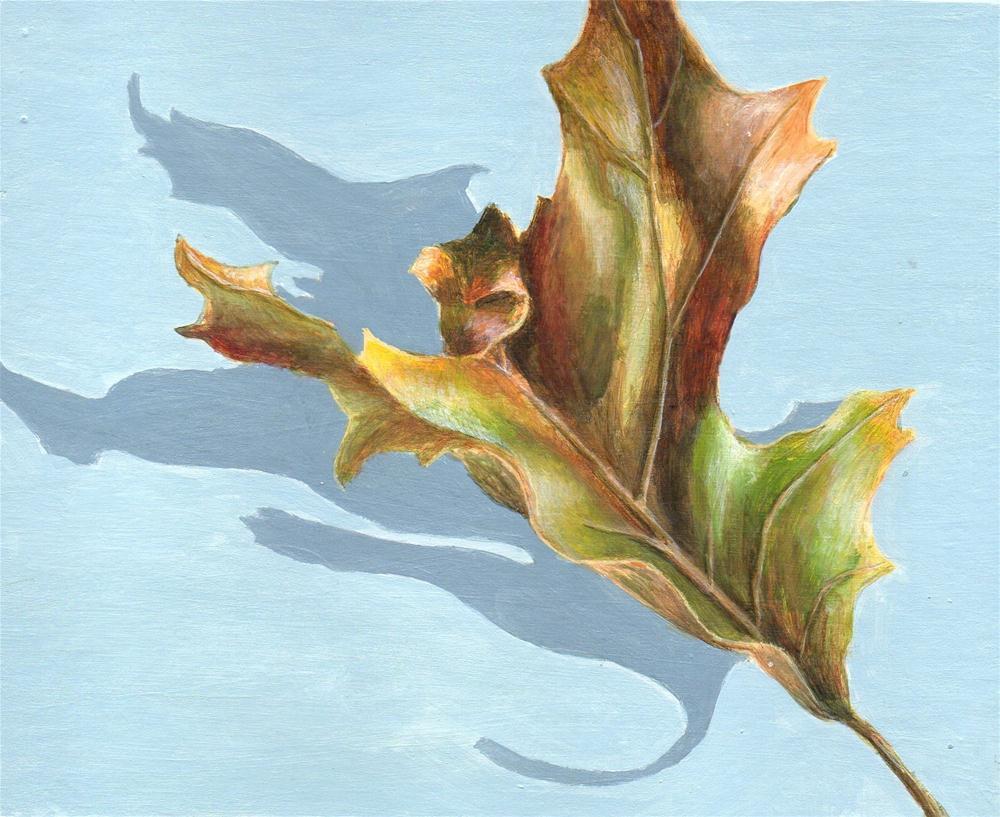 """Beginning of Change"" original fine art by Debbie Shirley"