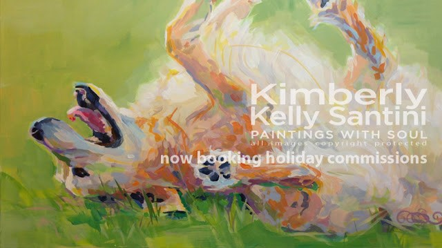 """November 2015 Studio Newsletter"" original fine art by Kimberly Santini"