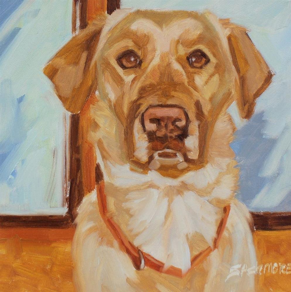 """''Noble Dog''"" original fine art by Susan Ashmore"