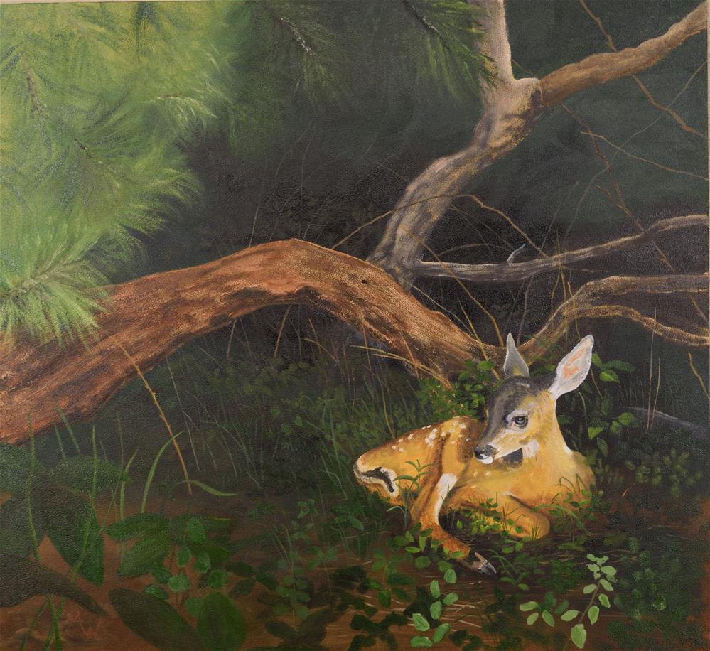 """New Life"" original fine art by Michelle Wolfe"