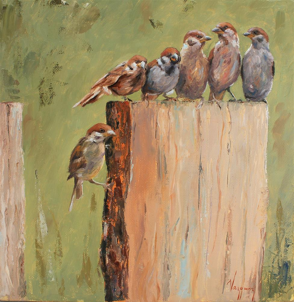 """Natural poetry"" original fine art by Marco Vazquez"