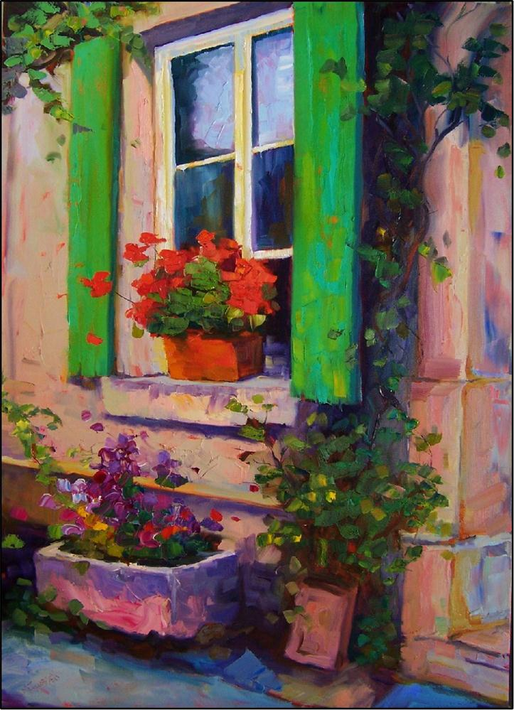 """Bellissima Morning,35x25, oil on gallery-wrapped canvas"" original fine art by Maryanne Jacobsen"