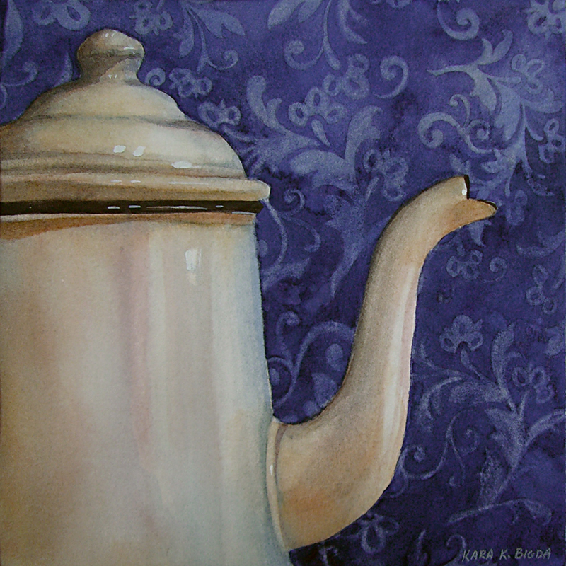 """Simplicity"" original fine art by Kara K. Bigda"