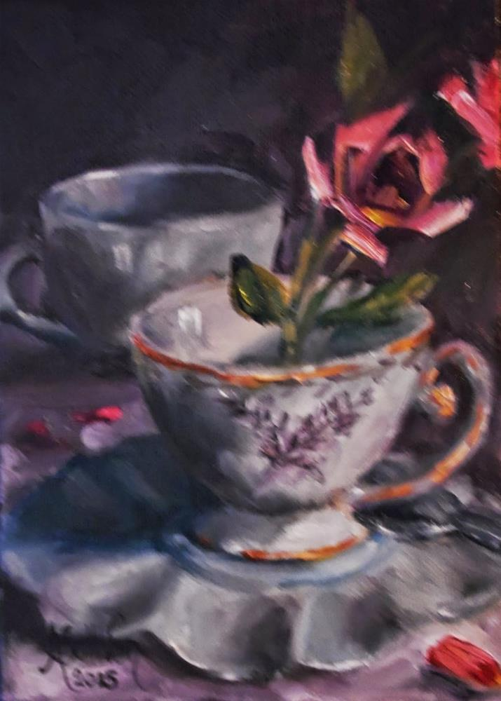 """Small Importance still life painting by Alabama Artist Angela Sullivan"" original fine art by Angela Sullivan"