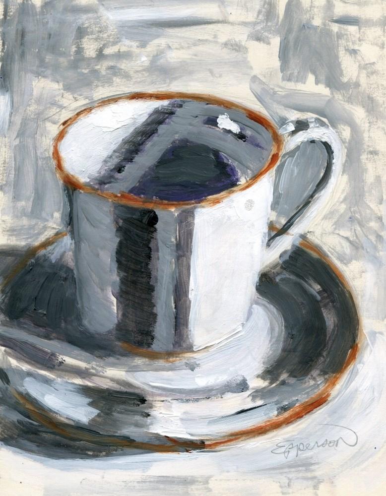 """""""Black, No Sugar"""" original fine art by Stanley Epperson"""