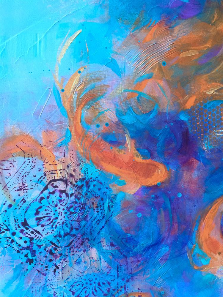 """Splash - Nancy Medina Art Classes and Videos"" original fine art by Nancy Medina"