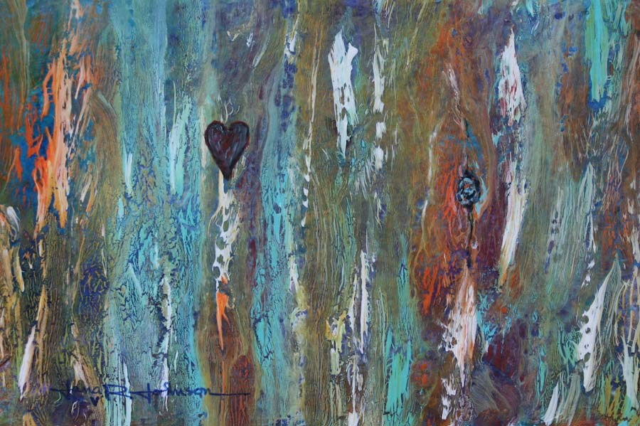 """Forever"" original fine art by Jana Johnson"