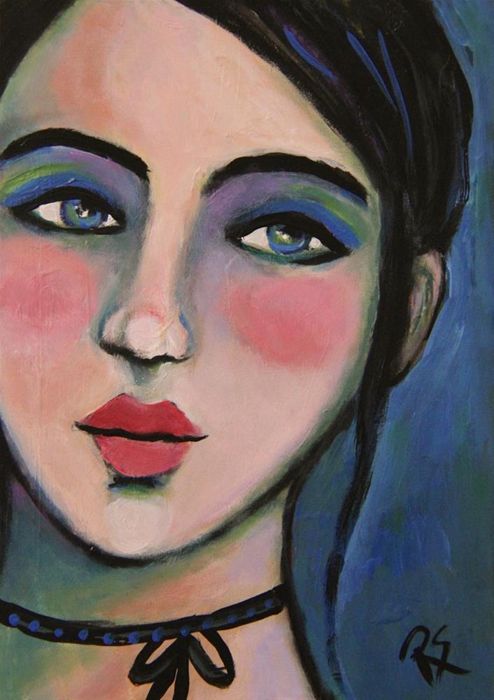 """""""Skye"""" original fine art by Roberta Schmidt"""