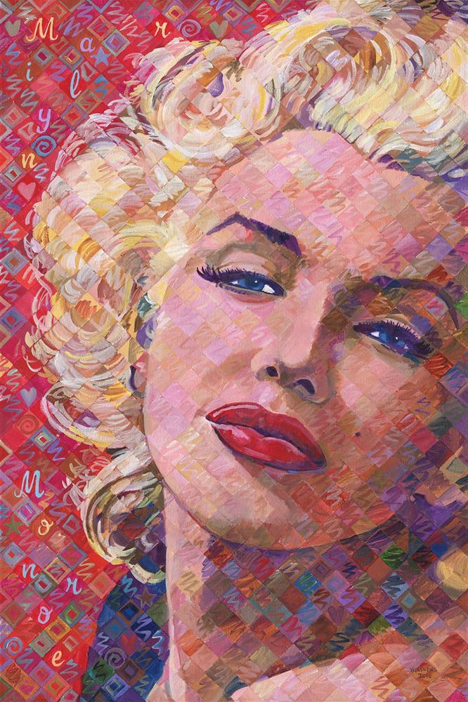 """""Red Marilyn"""" original fine art by Randal Huiskens"