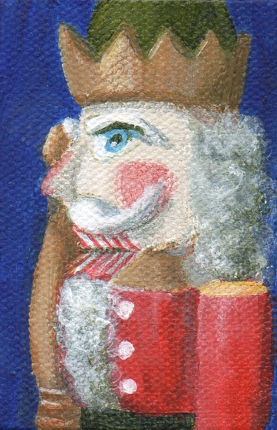 """Ornament"" original fine art by Debbie Shirley"