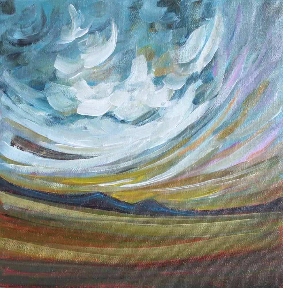 """Evening Light II"" original fine art by Sage Mountain"