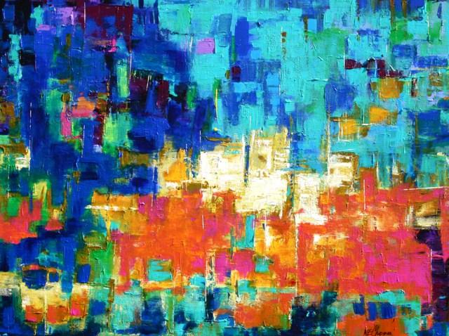 """""""Seaside"""" original fine art by Elizabeth Chapman"""
