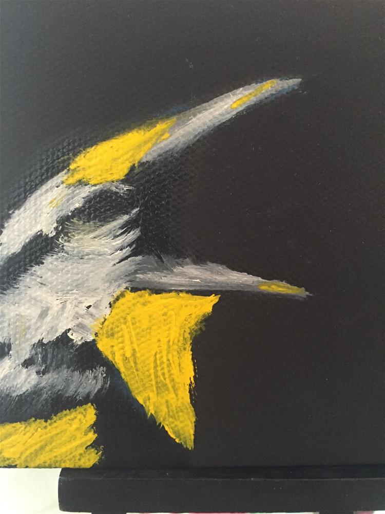 """Meadowlark"" original fine art by Charlotte Bankhead Hedrick"