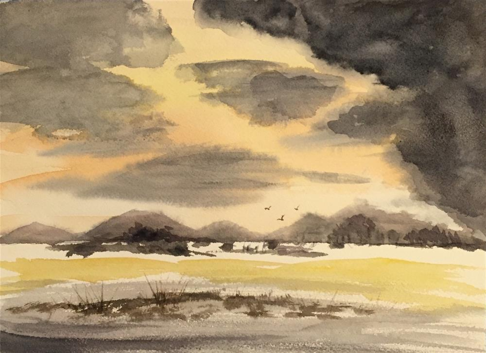 """""""Landscape Study"""" original fine art by Melissa Gresham"""