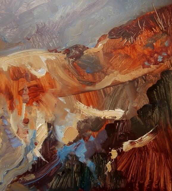 """Dune"" original fine art by Anne Wood"