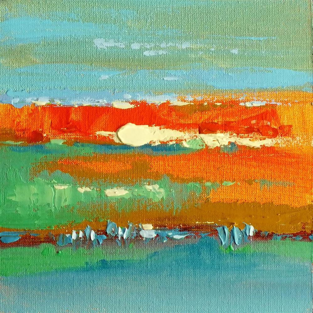 """Landscape 275"" original fine art by Ewa Kunicka"