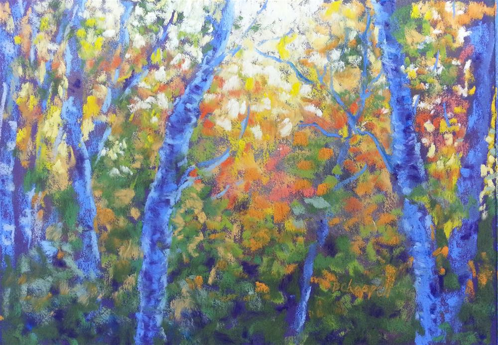 """Rustler's Gulch Afternoon"" original fine art by Becky Chappell"