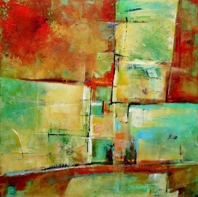 """Elements"" original fine art by Elizabeth Chapman"