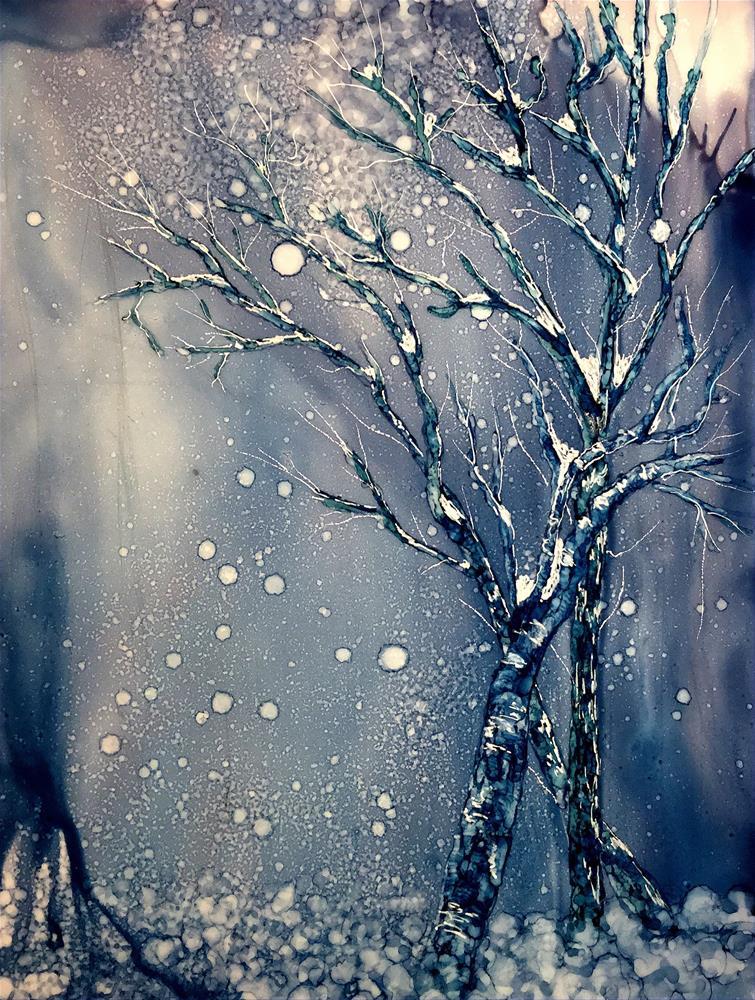 """Winter Solstice II"" original fine art by Korinne Carpino"
