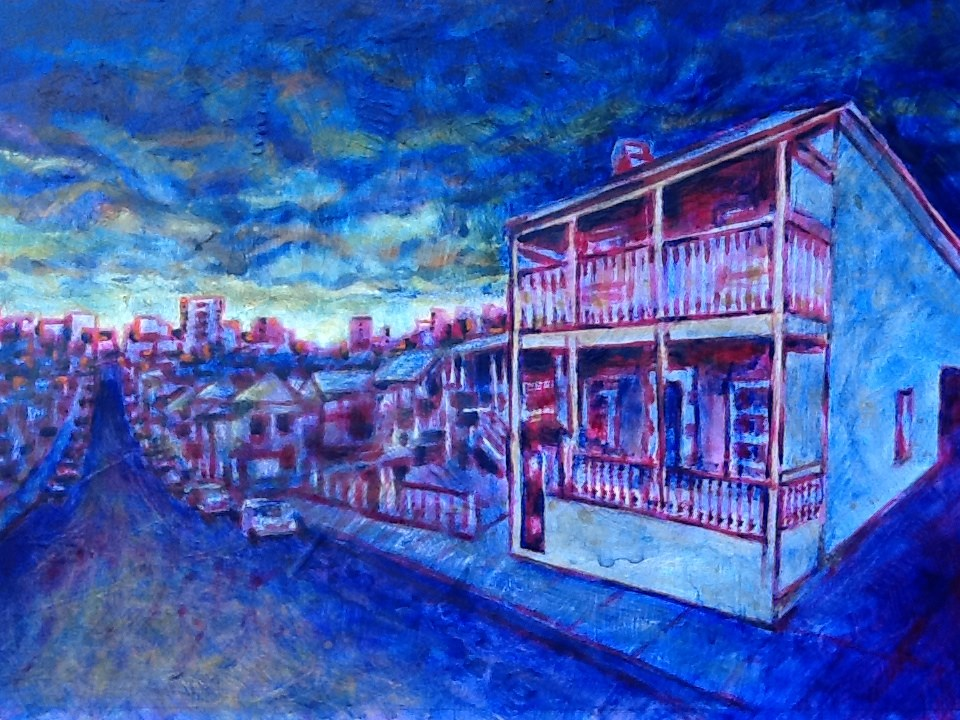 """113 ANNIE STREET 3"" original fine art by Trevor Downes"