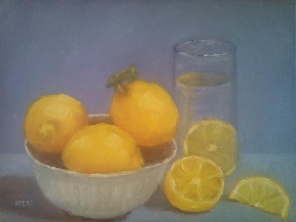 """When Life Gives You Lemons"" original fine art by Cheri Sperl"