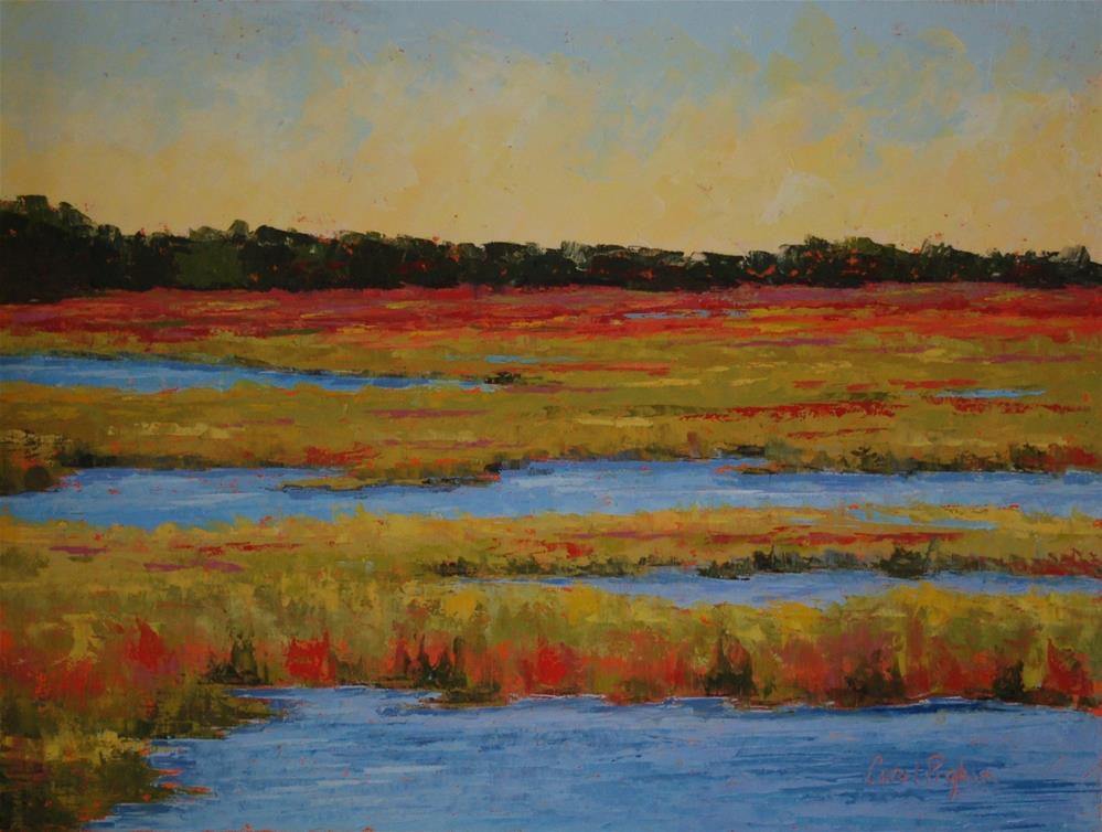 """""""Low-Country Colors"""" original fine art by Carol Pighin"""