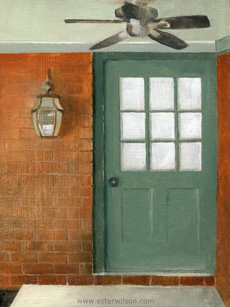 """A Southern Door"" original fine art by Ester Wilson"