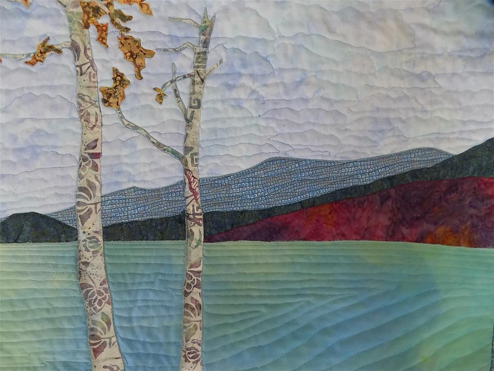 """""""Mont Tremblant  P.Q"""" original fine art by Joan Reive"""