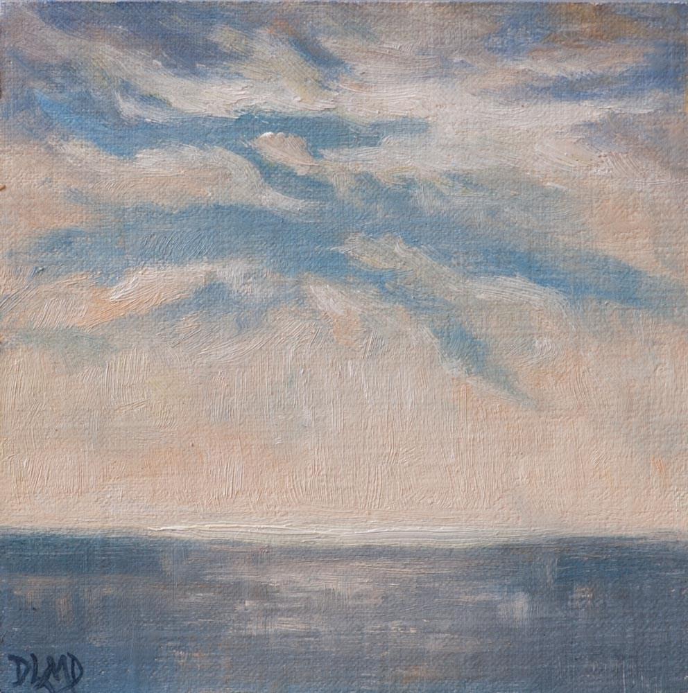 """Illuminated Horizon"" original fine art by Debbie Lamey-Macdonald"