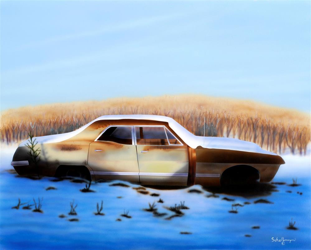 """Rust in Peace"" original fine art by Fred Schollmeyer"