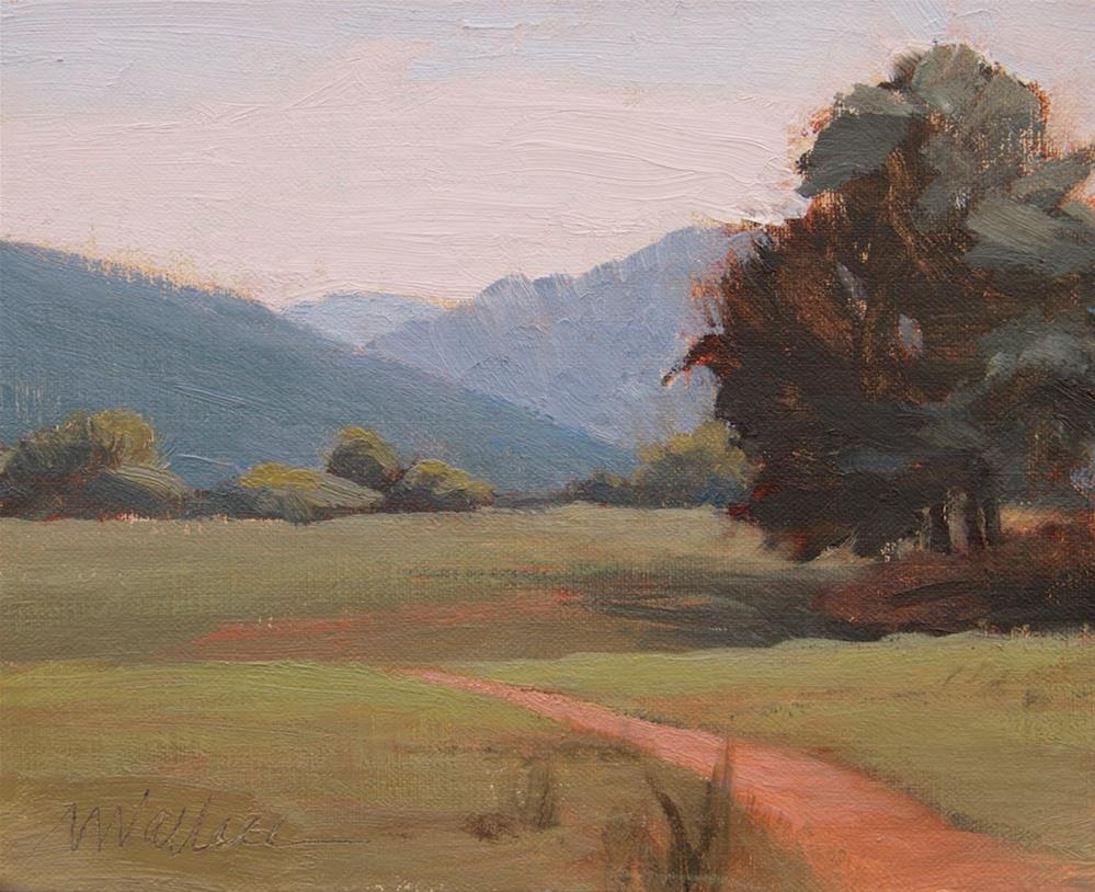 """#95 Stony Point Pass view"" original fine art by Nancy Wallace"