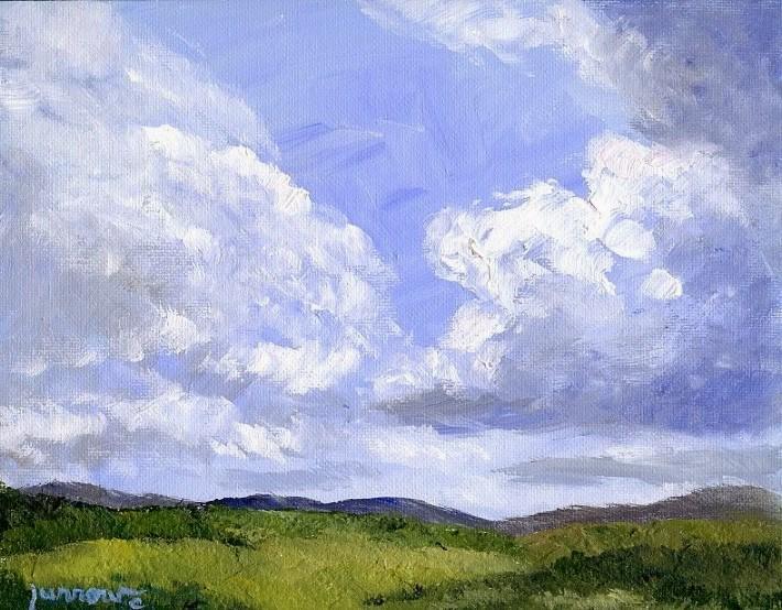 """Glenvar, Virginia Last Fall"" original fine art by Sue Furrow"