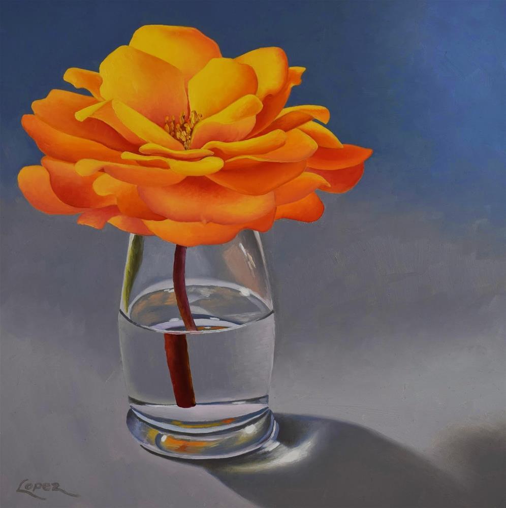 """8. Inner Glow"" original fine art by Gema Lopez"