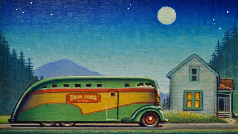 """Home"" original fine art by Robert LaDuke"