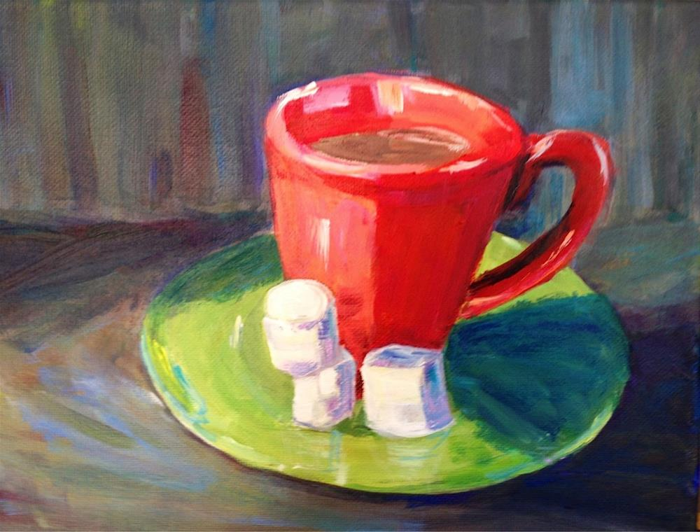 """Hot Cocoa"" original fine art by Beth Carrington Brown"