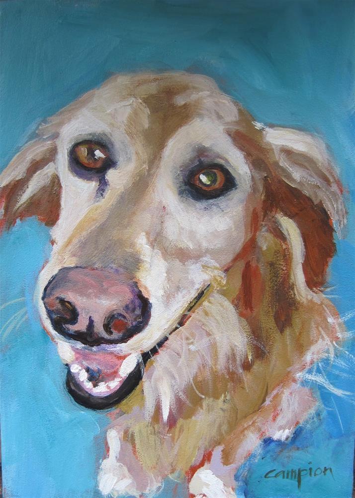 """""""Lucy"""" original fine art by Diane Campion"""