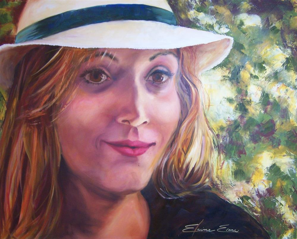 """Eloise"" original fine art by Elaine Evans"
