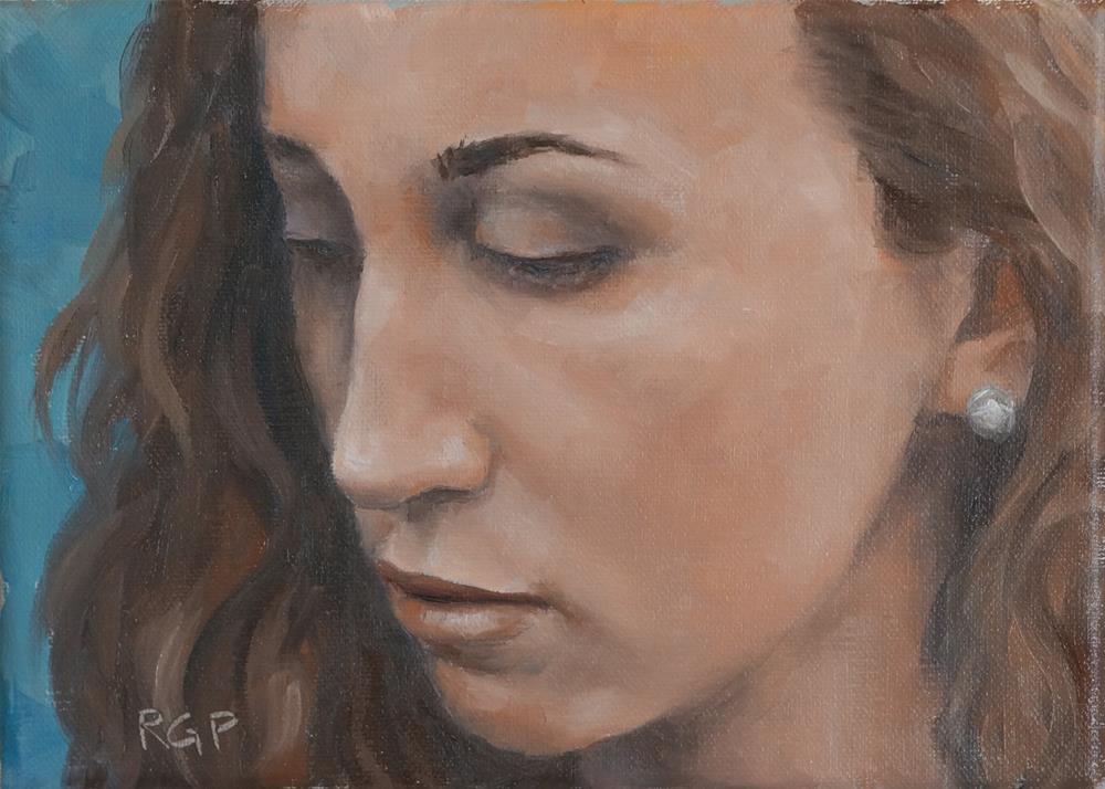 """Athena"" original fine art by Rhea  Groepper Pettit"