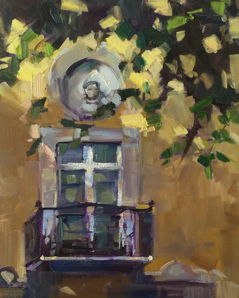 """""""Mallorca Sun and Shadow"""" original fine art by Patti McNutt"""