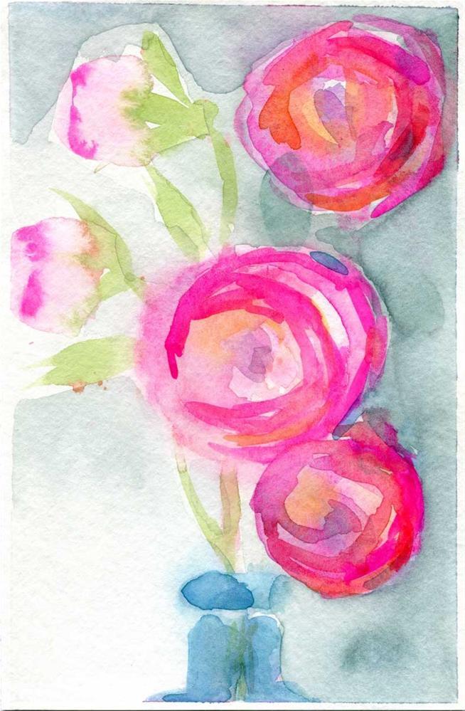 """Lolly"" original fine art by Heather Bennett"