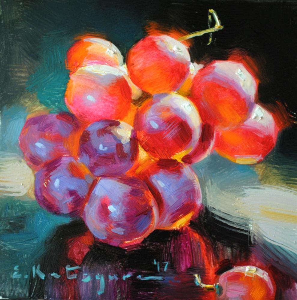 """Grape Vine"" original fine art by Elena Katsyura"
