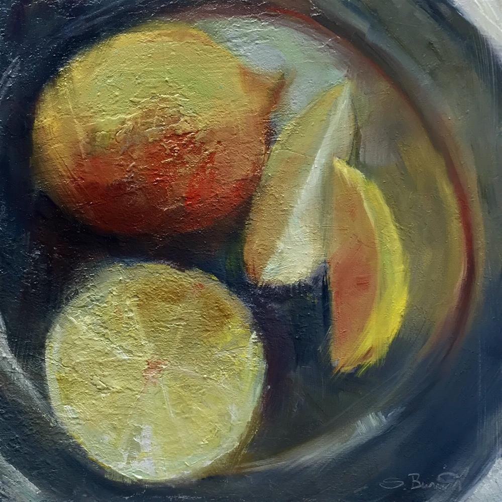 """""""Fresh Squeeze"""" original fine art by Sherri Burritt"""
