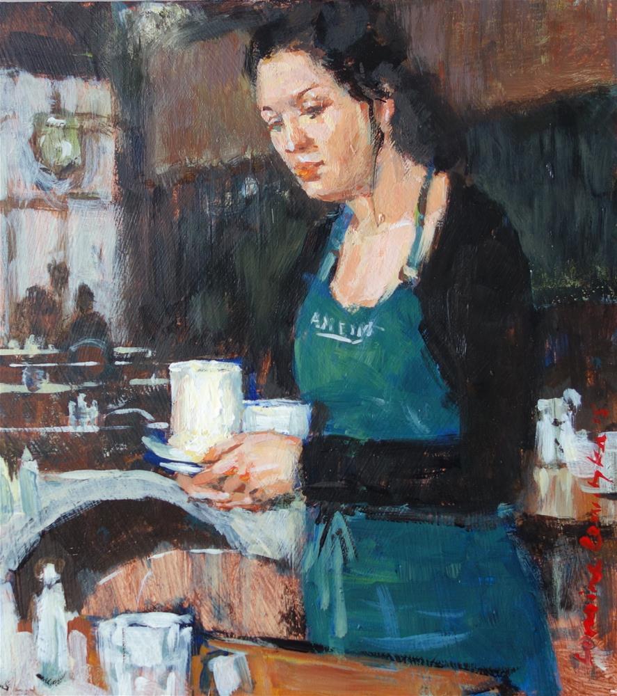 """Clearing Up"" original fine art by Lorraine Lewitzka"